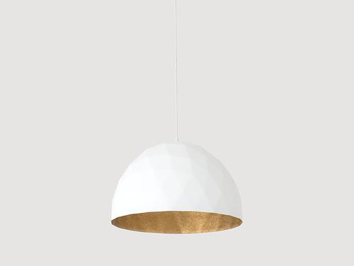 Lampa wisząca LEONARD L - złoto-biały