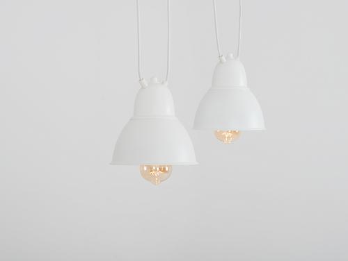 Lampa wisząca COBEN HANGMAN 2 - biały