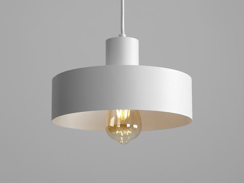 Lampa wisząca FAY 1 M - biały