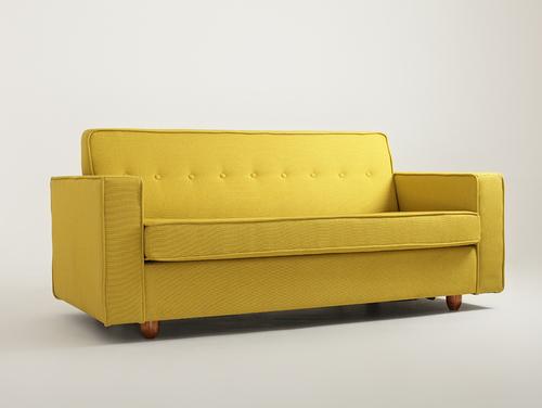 Sofa rozkładana 3 os. ZUGO