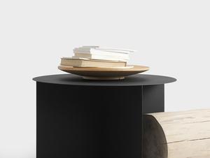 Stół kawowy OLI METAL 70 okrągły small 1