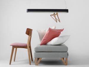 Lampa wisząca LAXO 90 - grafitowy small 2