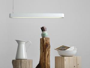 Lampa wisząca LAXO 90 - biały small 1