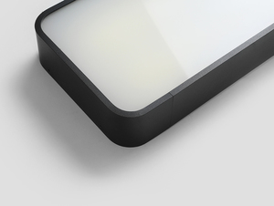 Plafon LAXO 60x20 - grafitowy small 4