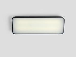 Plafon LAXO 60x20 - grafitowy small 0