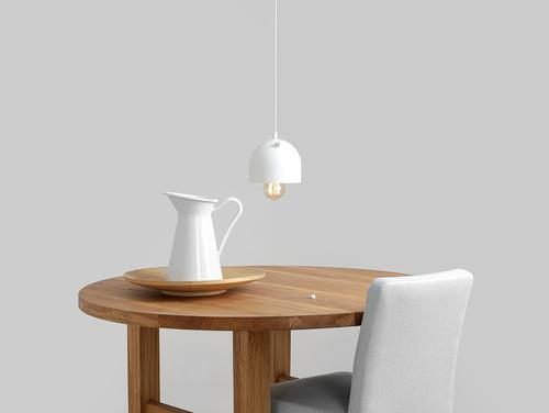 Lampa wisząca POPO 1 - biały