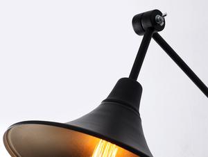 Lampa ścienna MILLER WALL - czarny small 4