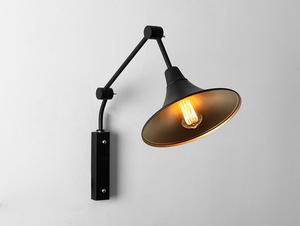 Lampa ścienna MILLER WALL - czarny small 0