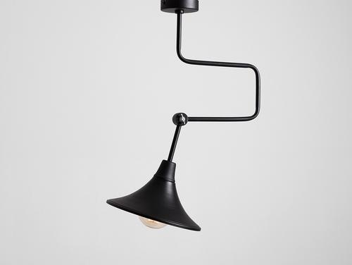 Lampa wisząca MILLER - czarny