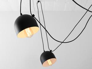 Lampa wisząca POPO 6 - czarny small 4