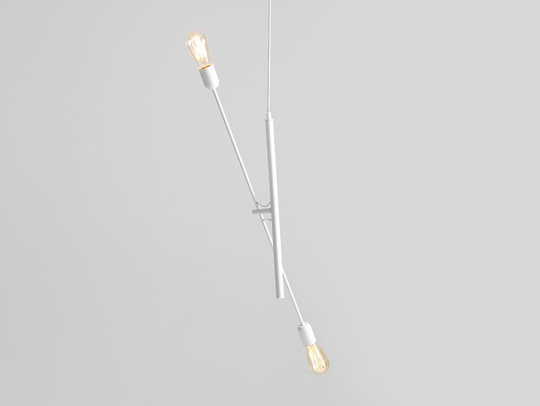 Lampa wisząca TWIGO 2 - biały