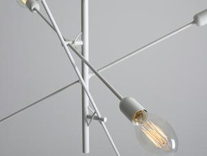 Lampa wisząca TWIGO 6 - biały small 4