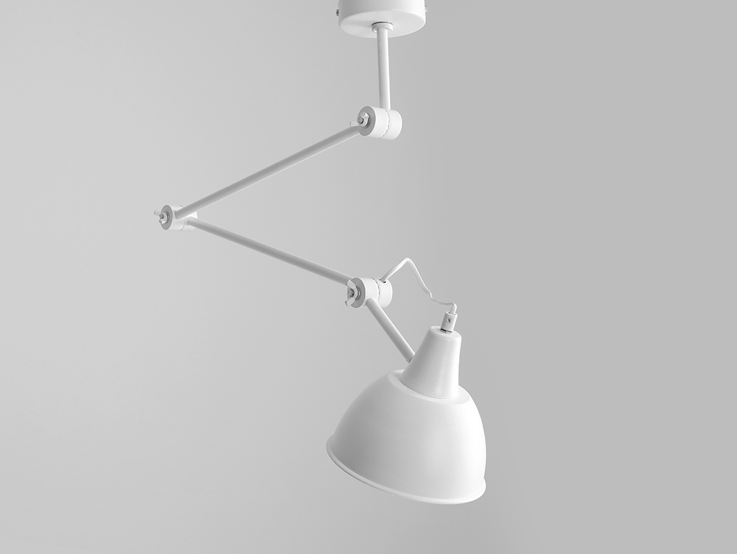 Lampa wisząca COBEN SUSPENSION - biały