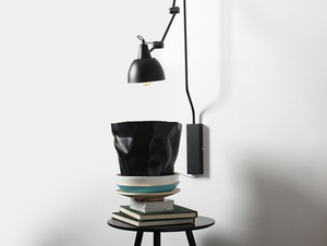 Lampa ścienna COBEN WALL - czarny small 1