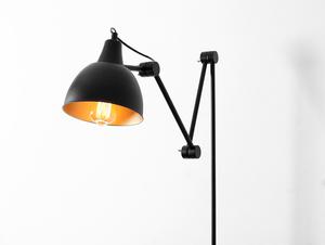 Lampa ścienna COBEN WALL - czarny small 4