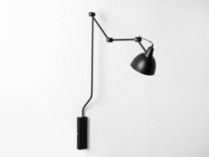 Lampa ścienna COBEN WALL - czarny small 0