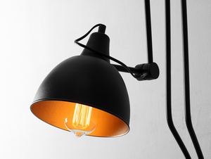 Lampa ścienna COBEN WALL 2 - czarny small 3
