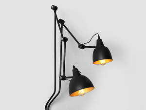 Lampa ścienna COBEN WALL 2 - czarny small 4