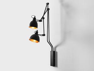 Lampa ścienna COBEN WALL 2 - czarny small 0