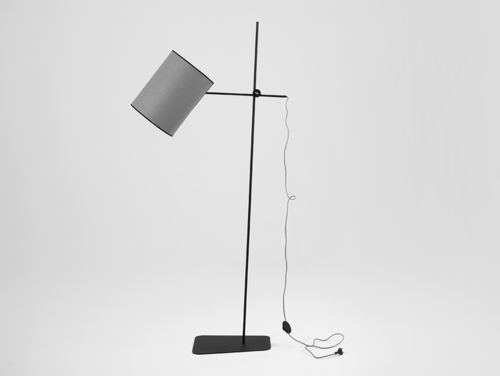 Lampa podłogowa HOBBIT FLOOR I - szary