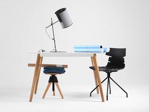 Lampa biurkowa HOBBIT TABLE I - szary small 1
