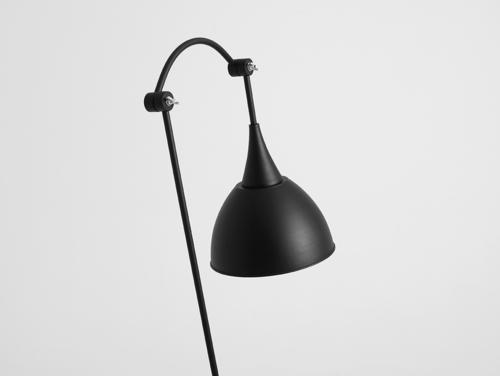 Lampa podłogowa DEBY FLOOR - czarny