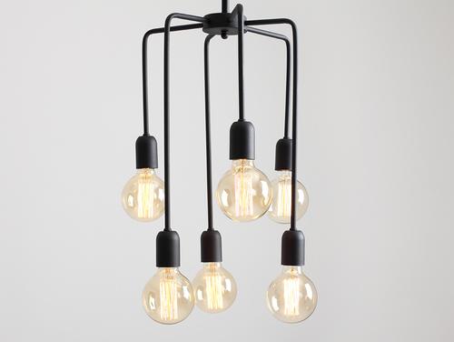 Lampa wisząca VANWERK TALL - czarny