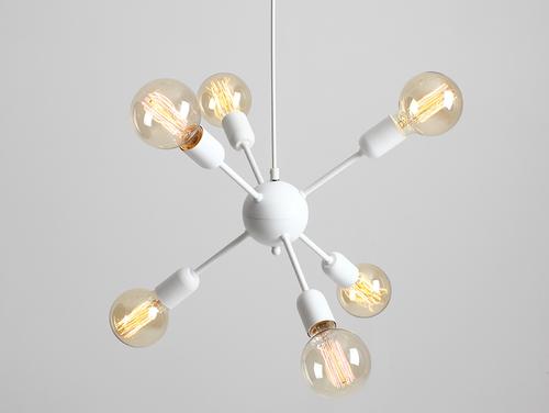 Lampa wisząca VANWERK BALL - biały