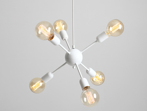 Lampa wisząca VANWERK BALL - biały small 0