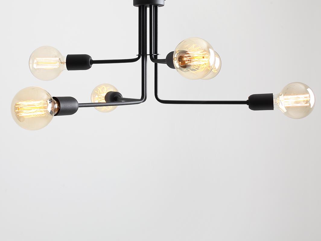 Lampa wisząca VANWERK 29 - czarny