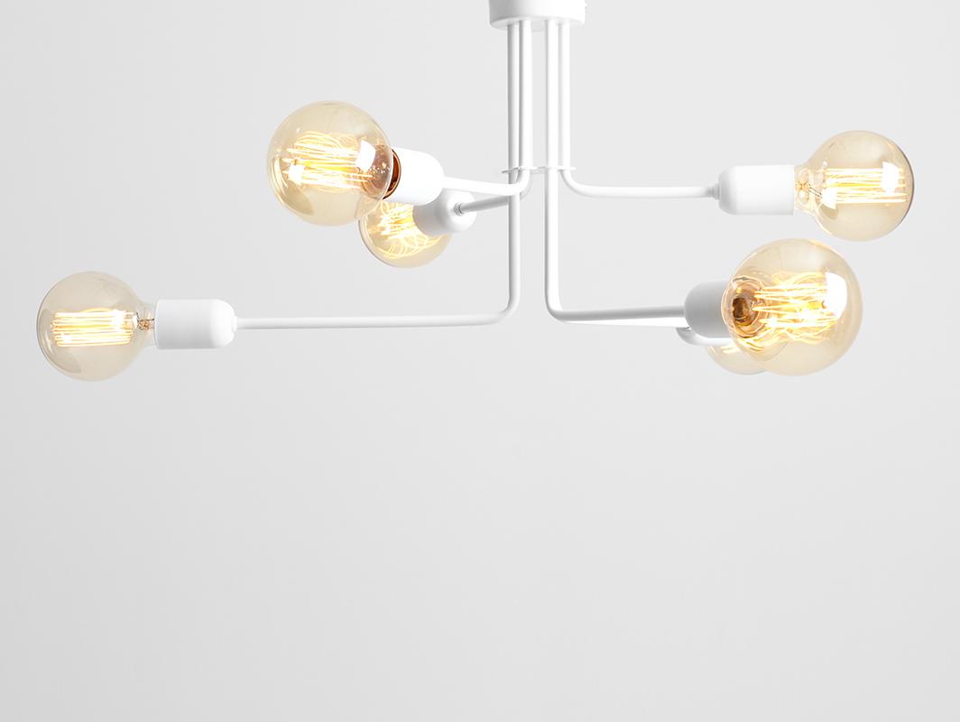 Lampa wisząca VANWERK 29 - biały
