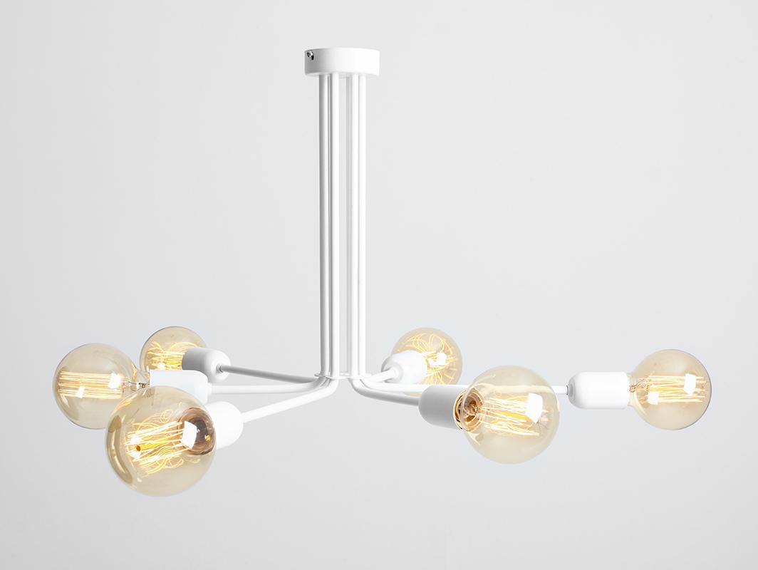 Lampa wisząca VANWERK 41 - biały