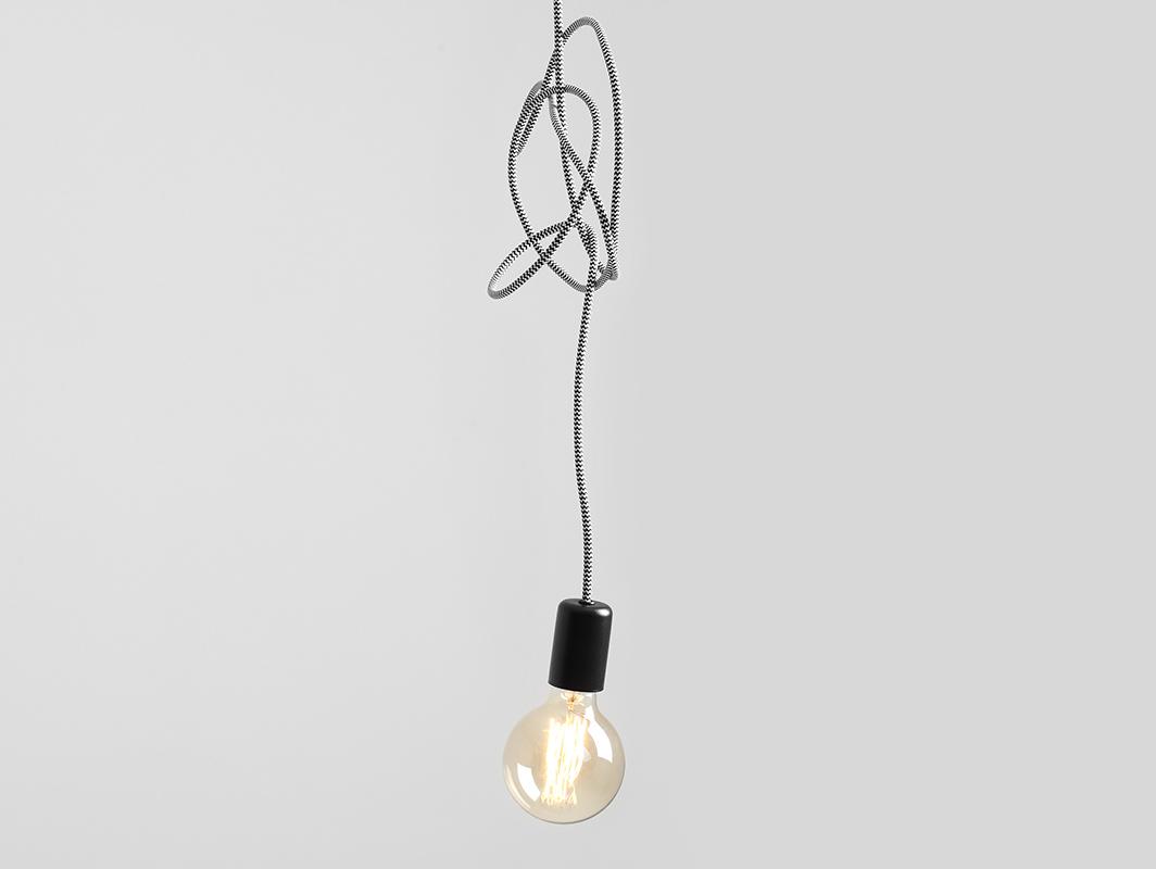 Lampa wisząca SPINNE 1 -  szary
