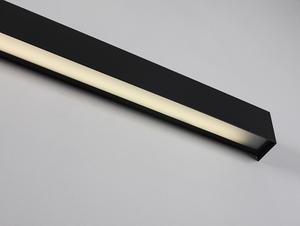 Lampa ścienna LINE WALL LED L - grafitowy small 4