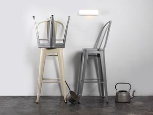 Lampa ścienna LINE WALL LED S - biały small 1
