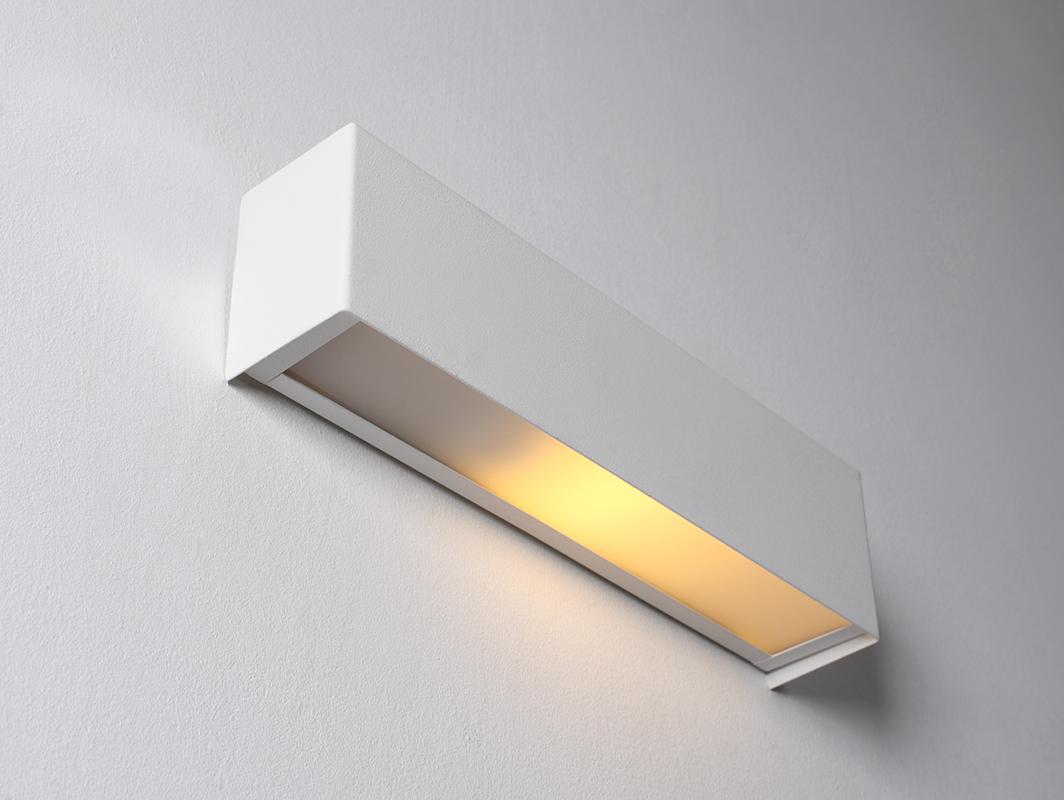 Lampa ścienna LINE WALL LED S - biały
