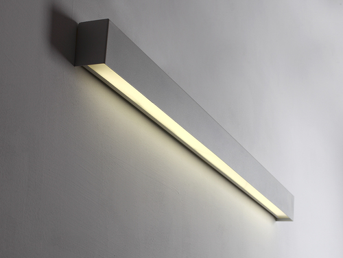 Lampa ścienna LINE WALL LED M - biały