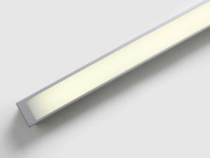 Plafon LINE LED S - srebrny small 3