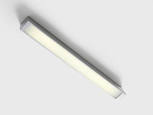 Plafon LINE LED S - srebrny small 0