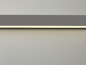Lampa ścienna LINE WALL LED L - srebrny small 2