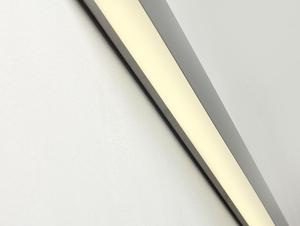 Lampa ścienna LINE WALL LED L - srebrny small 3