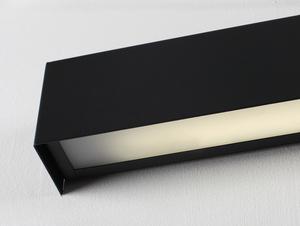 Lampa ścienna LINE WALL LED M - grafitowy small 4