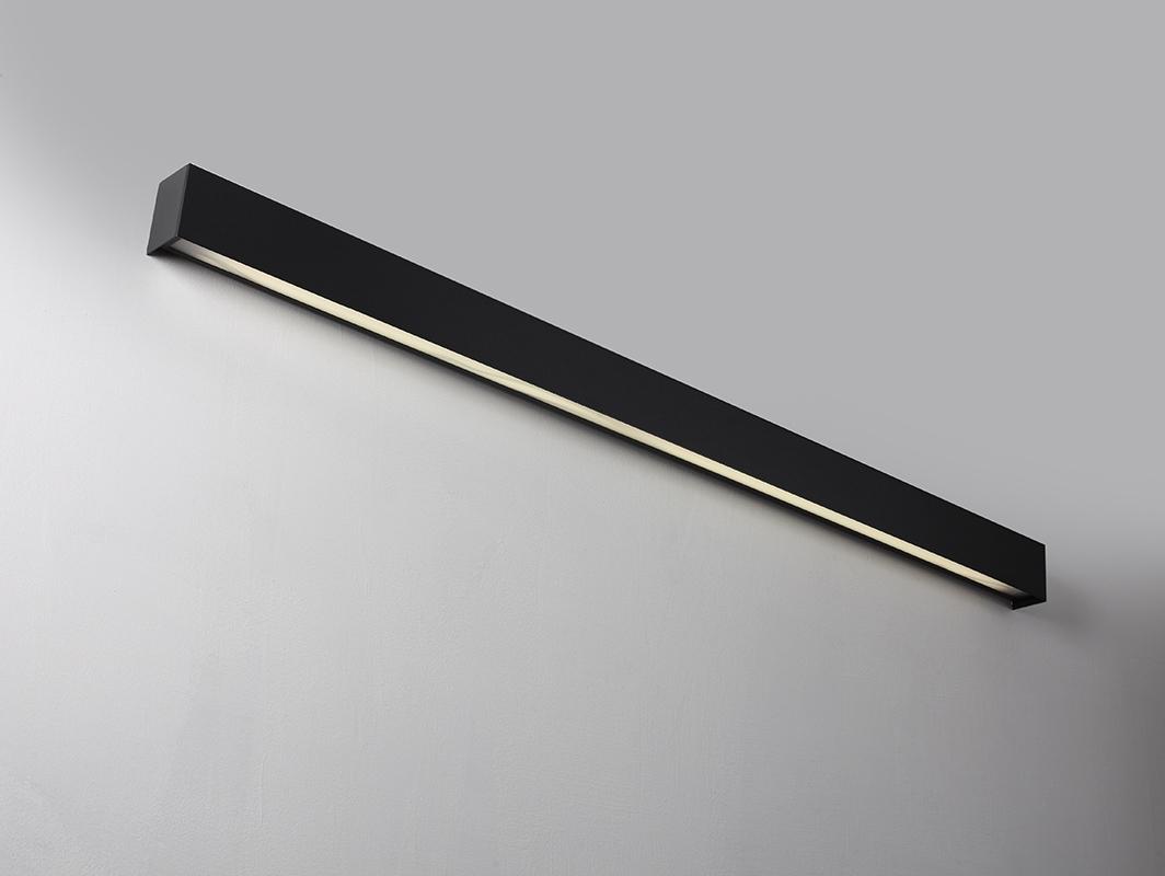 Lampa ścienna LINE WALL LED M - grafitowy