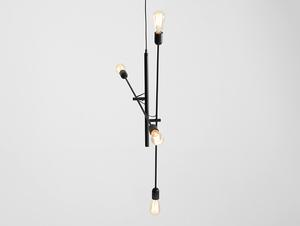 Lampa wisząca TWIGO 4 - czarny small 3