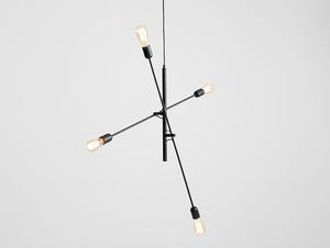 Lampa wisząca TWIGO 4 - czarny small 0