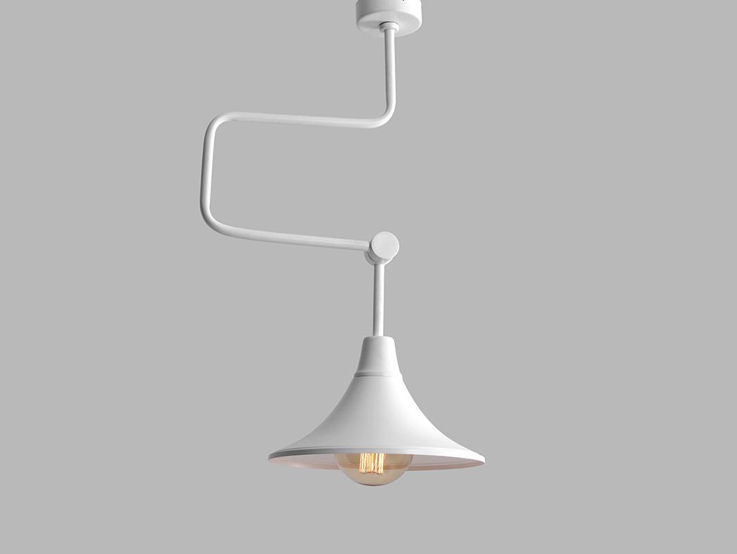 Lampa wisząca MILLER - biały