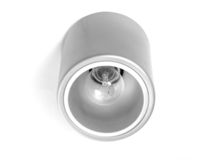 Plafon DOWNSPOT SILVER M 19 - srebrny small 2