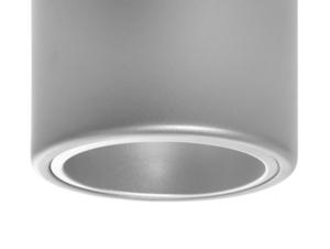 Plafon DOWNSPOT SILVER M 19 - srebrny small 3