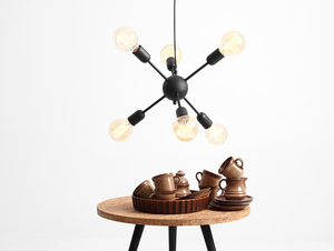 Lampa wisząca VANWERK BALL - czarny small 1