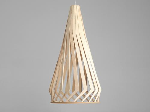 Lampa wisząca VEGA TALL - naturalny